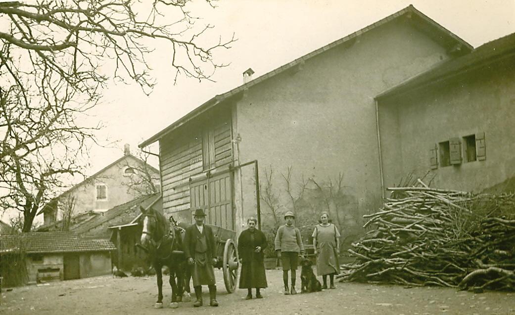 Meyrin autrefois commune de meyrin for Autrefois maison privee