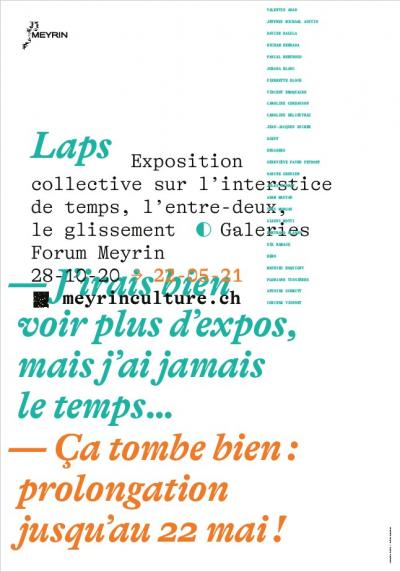 Affiche expo Laps prolongation